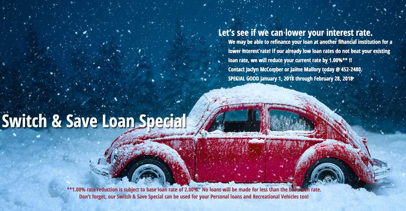 Switch and Save Loan